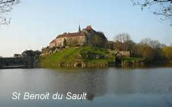 St benoit du sault with text